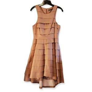 Camilla and Marc History Leather Pink Dress